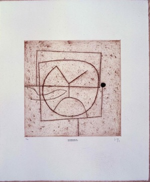 Victor Pasmore's 'Am I the object which I see?'