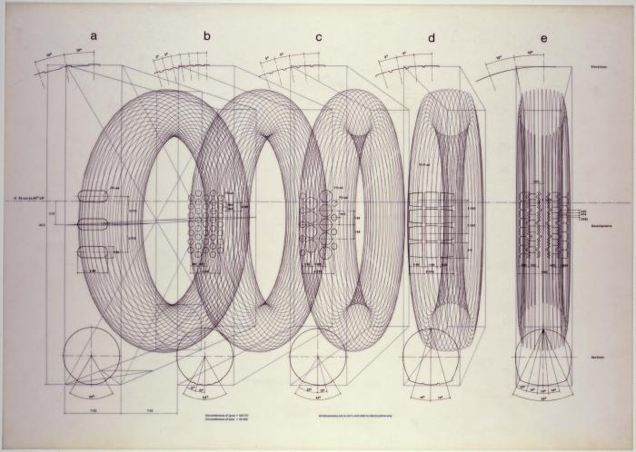 FRAME ONE Dimensional Data (1972), Perspective Scheme (1972)